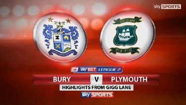 Bury 4-0 Plymouth
