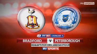 Bradford 1-0 Peterborough