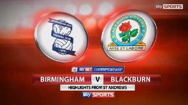 Birmingham 2-4 Blackburn