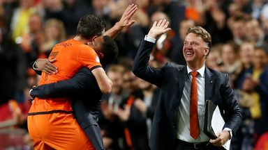 Louis van Gaal: Backed by compatriots