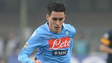Jose Callejon: Enjoying his football in Italy