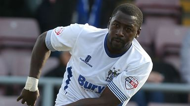 Pablo Mills: Down the pecking order at Bury