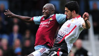 Pablo Armero: Impressed on his first West Ham start against Liverpool