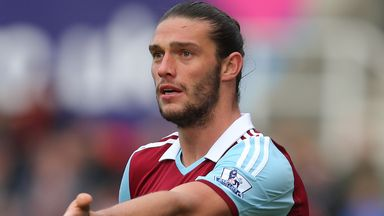 Andy Carroll: West Ham striker will be hoping for a World Cup call with England