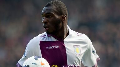 Christian Benteke: Could return next month according to Paul Lambert