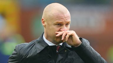Sean Dyche: Burnley manager waiting on contract responses