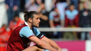 Andy Carroll: Injured again and could be out for four months