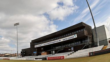 County Ground: Derbyshire in mourning after serious accident involving wicketkeeper Tom Poynton