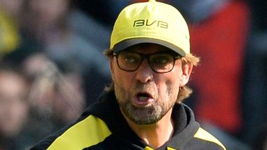 Jurgen Klopp: Angry with Dortmund's performance