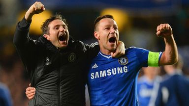 Terry (right) and Lampard: Both close to new deals with Chelsea