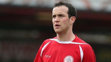 Luke Joyce: On target for Stanley