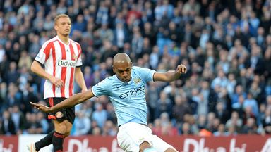 Fernandinho: Opened the scoring for City against Sunderland