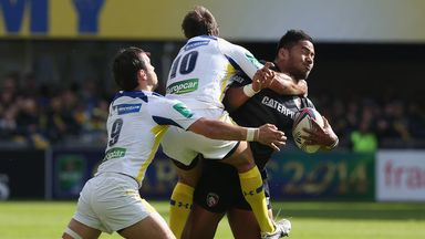 Clermont v Leicester - Highlights