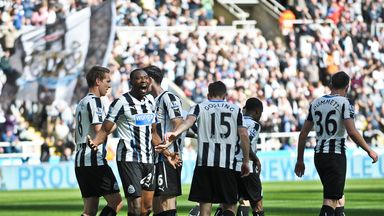 Shola Ameobi: The celebrations didn't last long at St James' Park