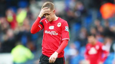 Craig Noone: Cardiff winger may miss the rest of the season because of injury