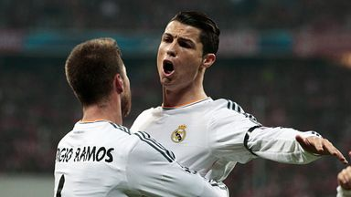 Cristiano Ronaldo: Won three awards for last season's performances