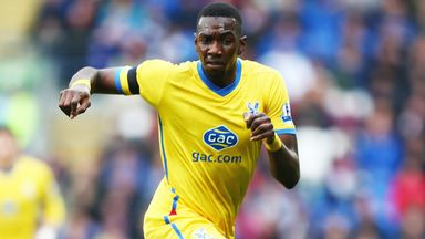 Yannick Bolasie: Winger has signed new three-year deal at Crystal Palace