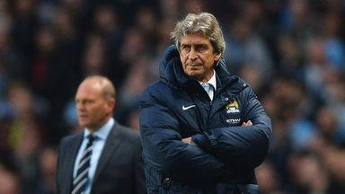 Manuel Pellegrini: Pleased with the win
