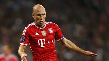 Arjen Robben: Will stay in Bayern Munich colours this season