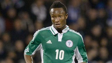 John Obi Mikel: Chelsea midfielder in Nigeria's provisional squad