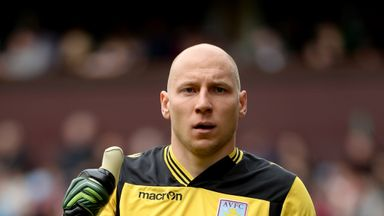 Brad Guzan: Aston Villa keeper is hoping for improved season