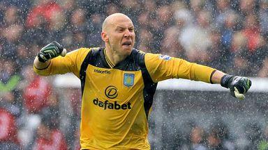 Brad Guzan: Aston Villa goalkeeper hails progress of Chelsea