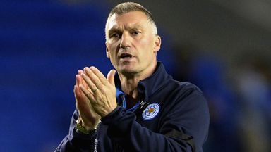 Nigel Pearson: Bemused by talk of signing as Leicester focus on completing their campaign