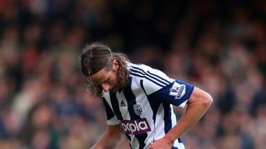 Jonas Olsson: West Brom defender hopes to face Manchester City