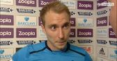 Eriksen pleased with a point