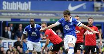 Leighton Baines: Opened the scoring from the penalty spot