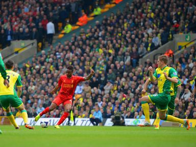 Raheem Sterling: Got Liverpool off to the perfect start at Carrow Road