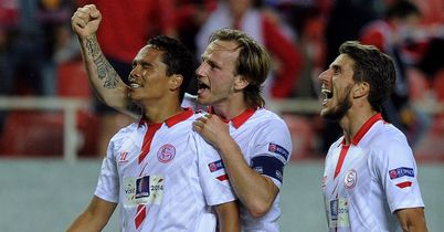 Sevilla secure first leg lead