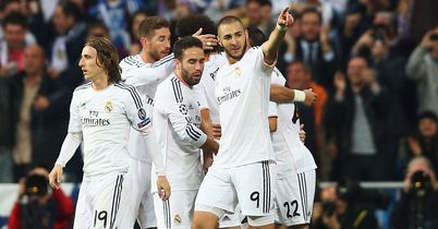 Benzema gives Real advantage