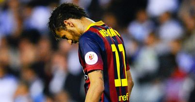 Neymar blow for Barca