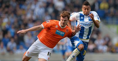 Blackpool draw at Brighton