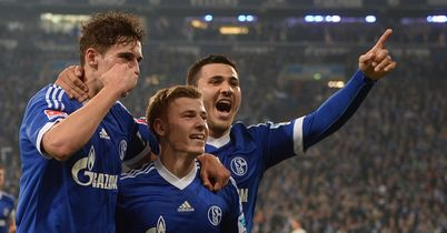 Schalke boost Euro hopes