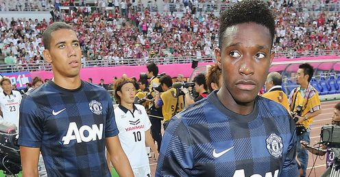 Danny Welbeck and Chris Smalling|: Could leave Manchester United