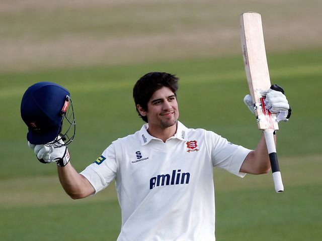 Alastair Cook: Scored a century for Essex