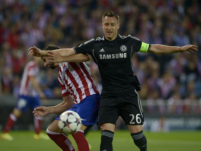 John Terry: Limped off in the first leg