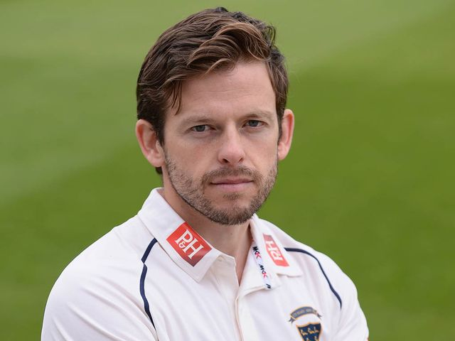 Ed Joyce: Finished unbeaten on 151 for Sussex