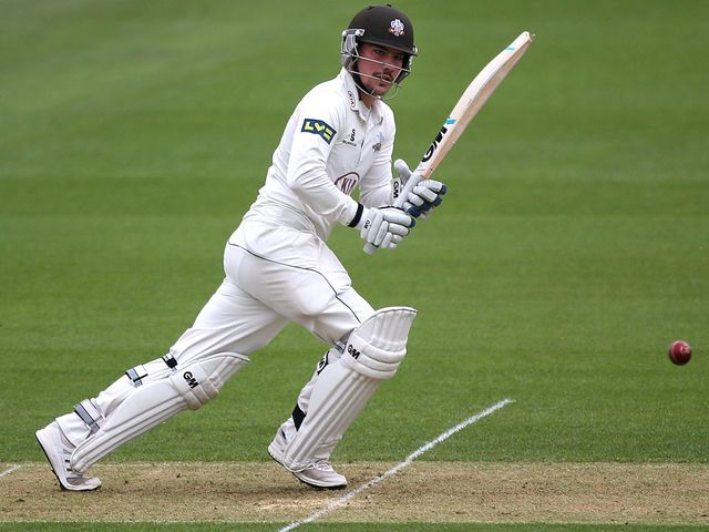 Rory Burns helped Surrey get the handful of runs they needed