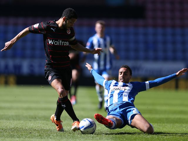 Wigan's James-Perch tackles Jobi McAnuff