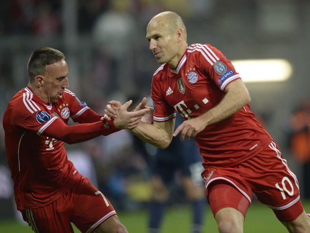 Arjen Robben sealed Bayern Munich's victory