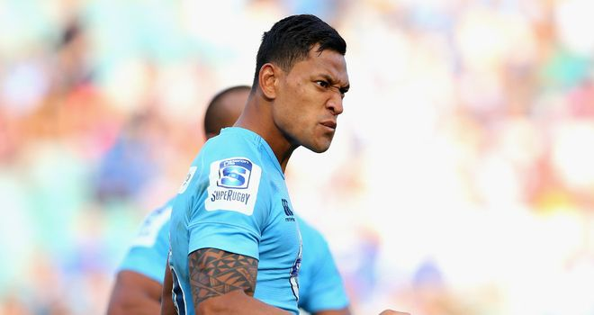 Israel Folau: Australia international could be out for six months