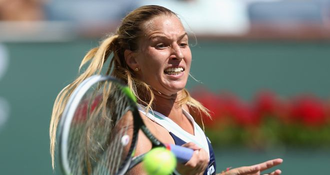 Dominika Cibulkova: Made light work of Hsieh Su-wei on Thursday