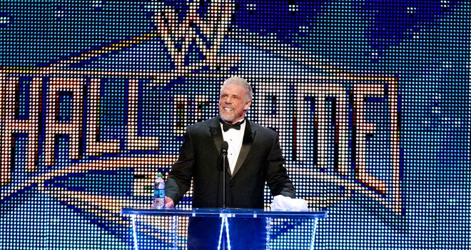 The Ultimate Warrior took his rightful place in the WWE Hall of Fame
