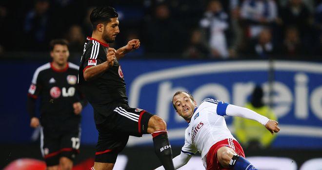 Rafael van der Vaart puts in a challenge
