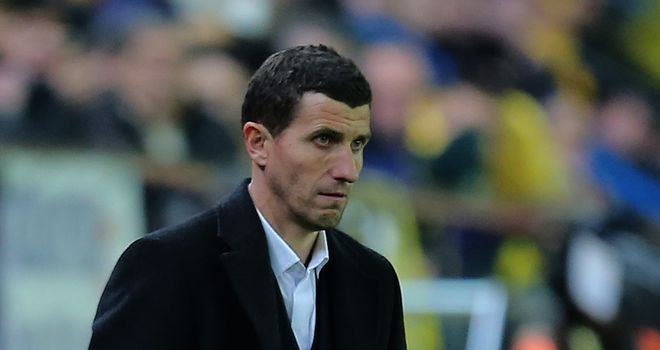 Javi Gracia's Malaga were held to a goalless draw