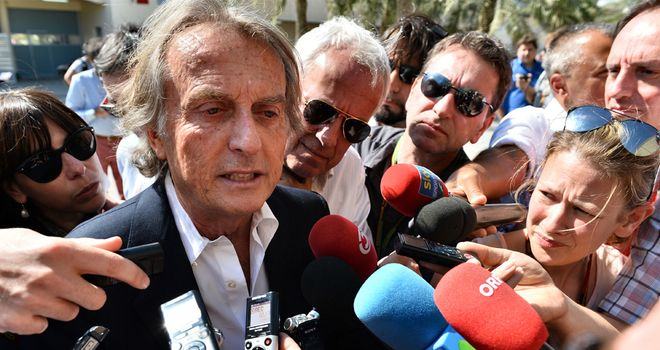 Luca di Montezemolo: Not happy with Ferrari's current performance