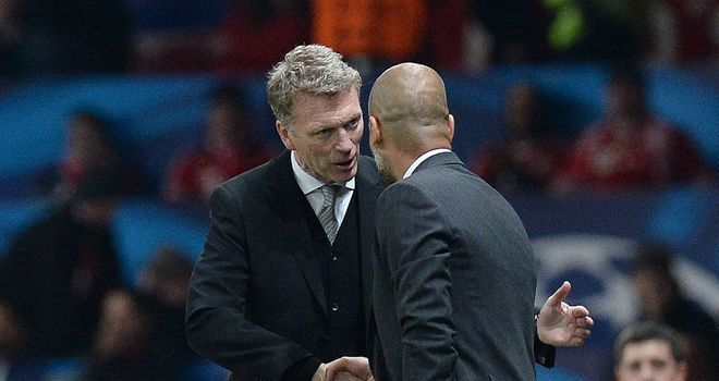David Moyes: Man Utd manager meets Pep Guardiola again